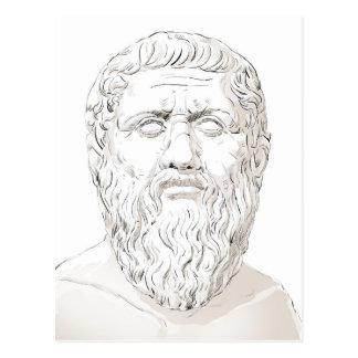 Plato Postcard
