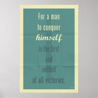 Plato Quote 003 Poster