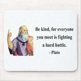 Plato Quote 1b Mouse Pad
