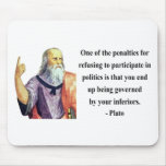 Plato Quote 2b Mouse Pads