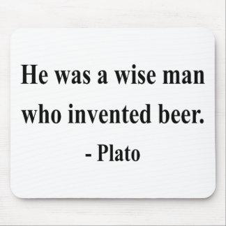 Plato Quote 3a Mouse Pad