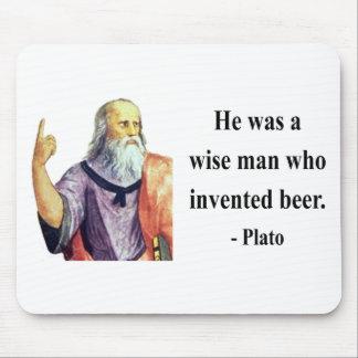 Plato Quote 3b Mouse Pad