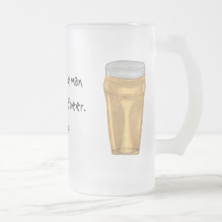 Plato Quote Beer Mug