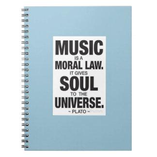Plato Quote Notebook