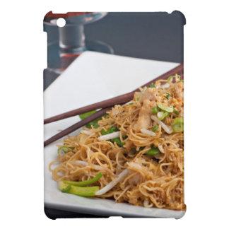 Plato tailandés de los tallarines de Lo Mein de la iPad Mini Cobertura