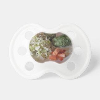 Plato tirolés del sur típico de las pastas del chupete