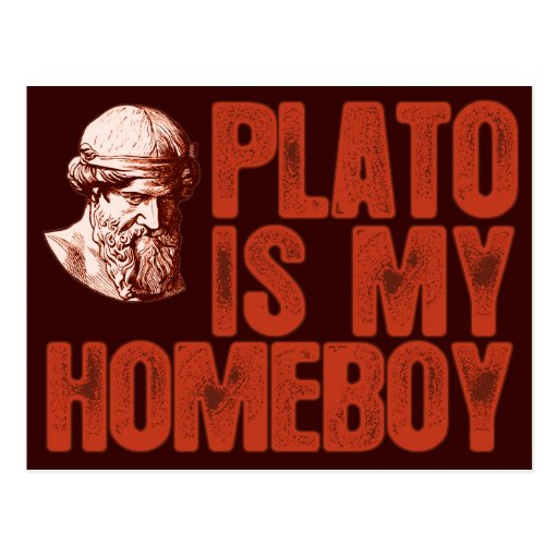 Platón es mi Homeboy Postal