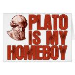Platón es mi Homeboy Tarjetón