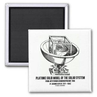 Platonic Model Of Solar System Mysterium Kepler Fridge Magnets