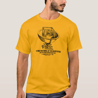 Platonic Model Of Solar System Mysterium Kepler T-Shirt