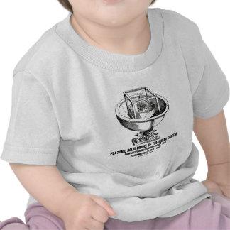 Platonic Model Of Solar System Mysterium Kepler T-shirt