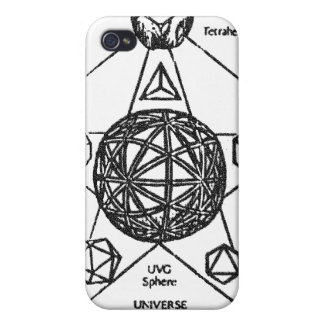 platonic solids sphere 2 iPhone 4/4S cover