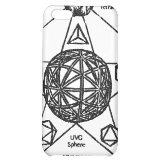 platonic solids sphere 2 case for iPhone 5C
