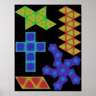 Platonic Solids Posters & Photo Prints | Zazzle