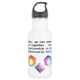 Platonically Solid 18oz Water Bottle
