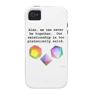 Platonically Solid Vibe iPhone 4 Cases