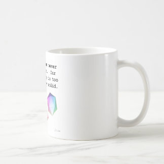 Platonically Solid Coffee Mug