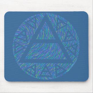 Plato's Air Symbol Ancient Art Mouse Pad