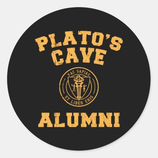 Plato's Cave Alumni Sticker