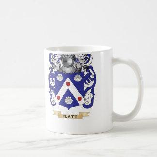 Platt Coat of Arms (Family Crest) Coffee Mug