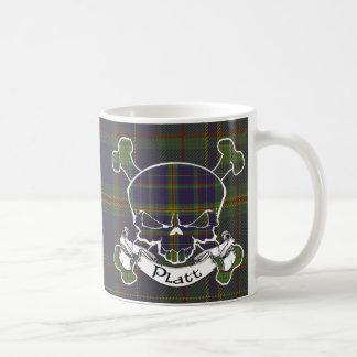 Platt Tartan Skull Coffee Mug