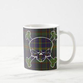 Platt Tartan Skull No Banner Coffee Mug