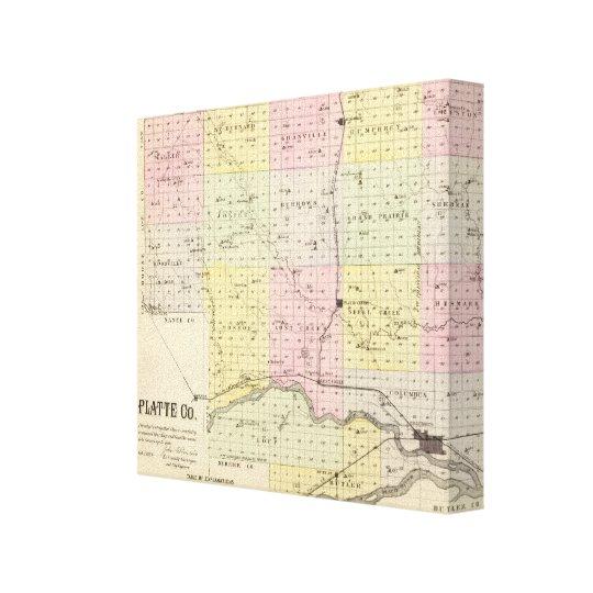 Platte County, Nebraska Canvas Print