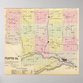 Platte County, Nebraska Poster