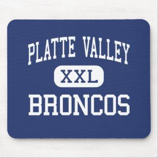 Platte Valley Broncos Middle Kersey Colorado Mouse Pad