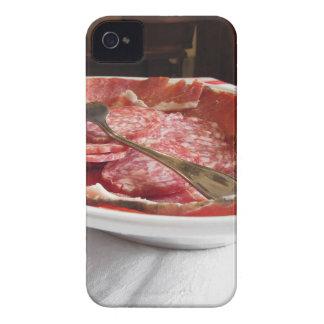 Platter of cold cuts iPhone 4 Case-Mate case