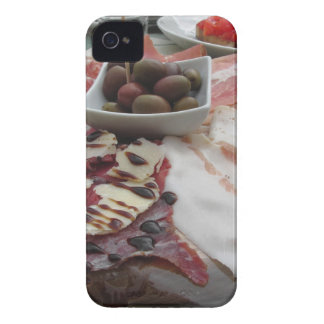 Platter of cold cuts with rustic ham prosciutto Case-Mate iPhone 4 case