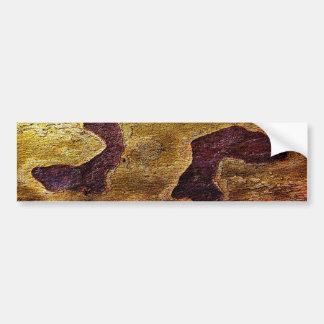 Plattern, naturaleza pegatina de parachoque