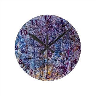 Platterns Round Clock