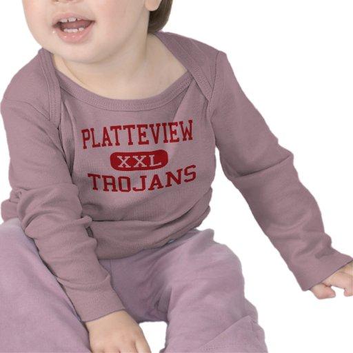 Platteview - Trojans - High - Springfield Nebraska T-shirt