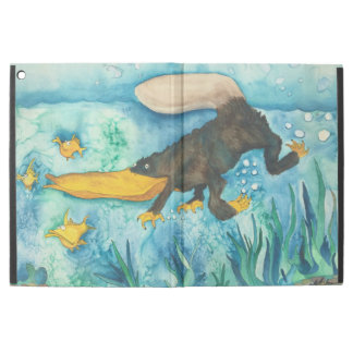 """""""Platty"""" the Platypus by Mike Quinn iPad Pro Case"""