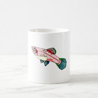 Platy Fish 11 Oz Magic Heat Color-Changing Coffee Mug