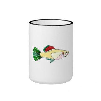 Platy Fish Ringer Coffee Mug