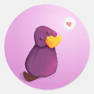 Platy Love: Stickers