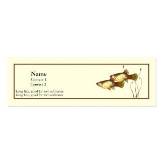 Platy Profile Card Mini Business Card