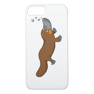 platypus cargado en cuenta pato lindo funda iPhone 7