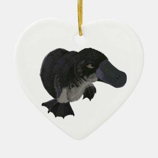 Platypus Ceramic Ornament