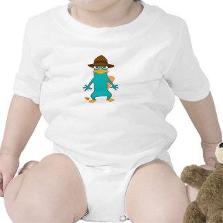 Platypus del agente P de Phineas y de Ferb en la Trajes De Bebé