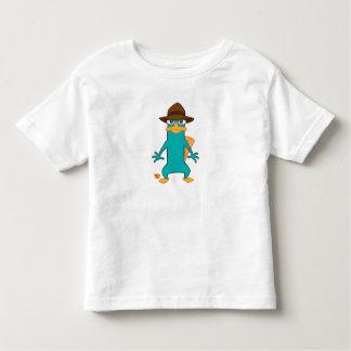 Platypus del agente P de Phineas y de Ferb en la Playera De Bebé