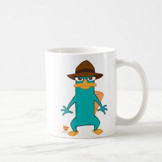 Platypus del agente P de Phineas y de Ferb en la Taza