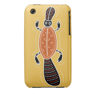 Platypus Dotted Design iPhone 3 Case