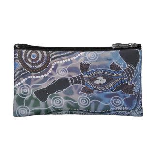 Platypus Dreaming Wristlet Bag/Purse