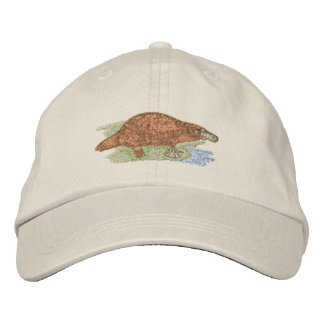 Platypus Embroidered Baseball Cap