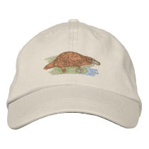 Platypus Embroidered Baseball Hat