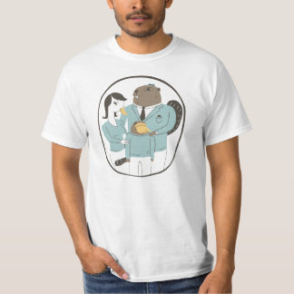 Platypus Family Portrait T-Shirt