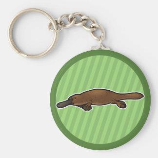 Platypus Llavero Redondo Tipo Pin